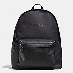 COACH CAMPUS BACKPACK IN NYLON - MIDNIGHT - F71674