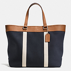 COACH WEEKEND TOTE IN TWILL - MIDNIGHT - F71687