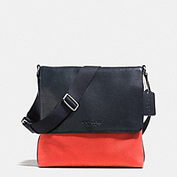 COACH MAP BAG IN TWILL - CORAL - F71691