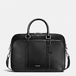 COMMUTER IN CROSSGRAIN LEATHER - BLACK - COACH F71696