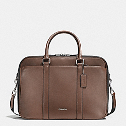 COACH COMMUTER IN CROSSGRAIN LEATHER - TOBACCO - F71696