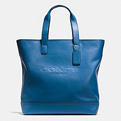 COACH MERCER TOTE IN SMOOTH LEATHER - DENIM - F71699