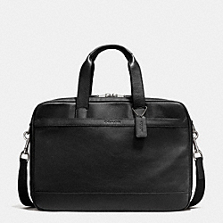 HUDSON COMMUTER IN LEATHER - BLACK - COACH F71701