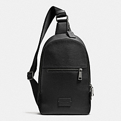 COACH CAMPUS PACK - BLACK/BLACK ANTIQUE NICKEL - COACH F71709