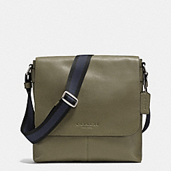 SULLIVAN SMALL MESSENGER IN SMOOTH LEATHER - B75 - COACH F71721