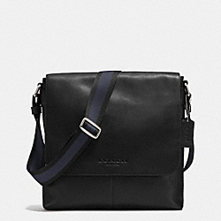 SULLIVAN SMALL MESSENGER IN SMOOTH LEATHER - BLACK - COACH F71721