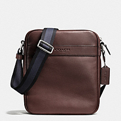 FLIGHT BAG IN SMOOTH LEATHER - MAHOGANY - COACH F71723