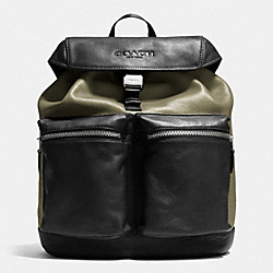 RUCKSACK IN SMOOTH LEATHER - E64 - COACH F71728