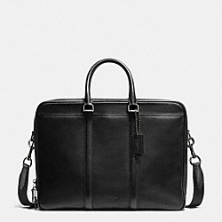 METROPOLITAN COMMUTER - BLACK/BLACK ANTIQUE NICKEL - COACH F71733