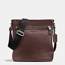 TECH CROSSBODY IN SMOOTH LEATHER - MAHOGANY - COACH F71745