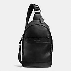 COACH CAMPUS PACK IN SMOOTH LEATHER - BLACK - F71751