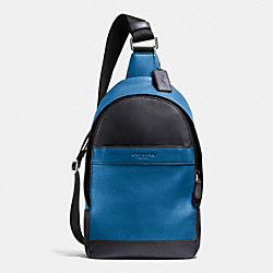 CAMPUS PACK IN SMOOTH LEATHER - DENIM - COACH F71751