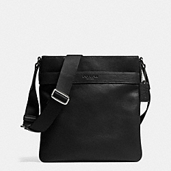 COACH BOWERY CROSSBODY IN LEATHER - BLACK - F71842