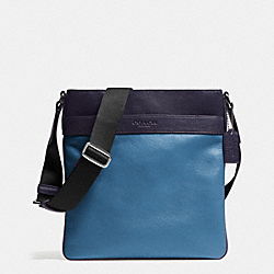 BOWERY CROSSBODY IN LEATHER - SLATE - COACH F71842