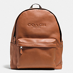 COACH CAMPUS BACKPACK IN LEATHER - SADDLE - F71873
