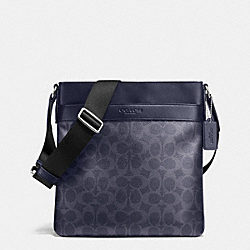 BOWERY CROSSBODY IN SIGNATURE - DENIM/NAVY - COACH F71877