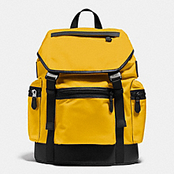 COACH TREK PACK IN NYLON - BANANA - F71884