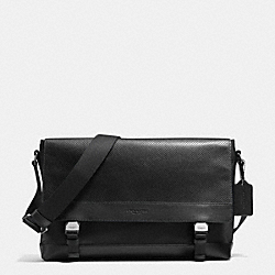 SPORT MESSENGER IN NYLON AND PERFORATED LEATHER - BLACK - COACH F71969