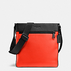 COACH BOWERY CROSSBODY IN PEBBLE LEATHER - BKORG - F72101