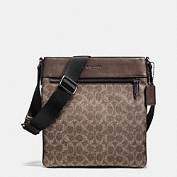 COACH BOWERY CROSSBODY IN SIGNATURE - QBBAK - F72103