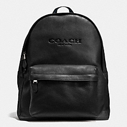 COACH CAMPUS BACKPACK IN SMOOTH LEATHER - BLACK - F72120