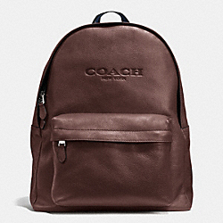CAMPUS BACKPACK IN SMOOTH LEATHER - MAHOGANY - COACH F72120
