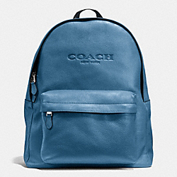 COACH CAMPUS BACKPACK IN SMOOTH LEATHER - SLATE - F72120