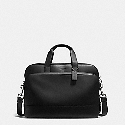 COACH HAMILTON 24 HOUR COMMUTER IN SMOOTH LEATHER - BLACK - F72224