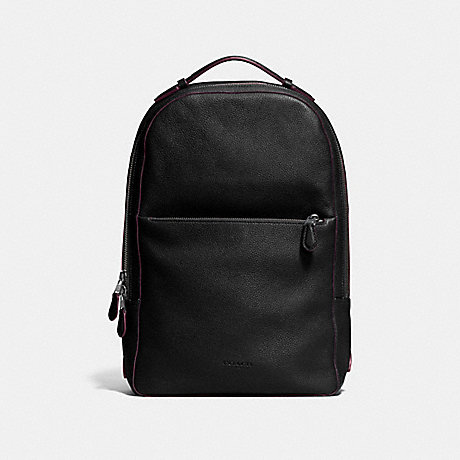 COACH METROPOLITAN SOFT BACKPACK - BLACK/BLACK ANTIQUE NICKEL - F72306