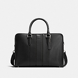COACH BOND BRIEF IN SMOOTH LEATHER - BLACK - F72309