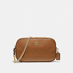 CROSSBODY POUCH - IM/LIGHT SADDLE - COACH F72490