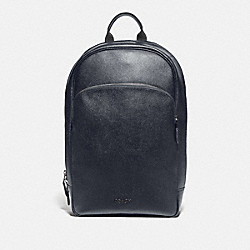 BECKETT BUSINESS BACKPACK - MIDNIGHT NAVY/NICKEL - COACH F72512