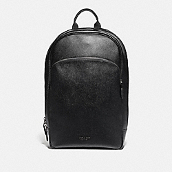 BECKETT BUSINESS BACKPACK - BLACK/NICKEL - COACH F72512