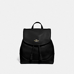 ELLE BACKPACK - BLACK/IMITATION GOLD - COACH F72645