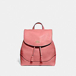ELLE BACKPACK - ROSE PETAL/IMITATION GOLD - COACH F72645