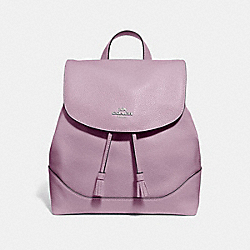 ELLE BACKPACK - JASMINE/SILVER - COACH F72645