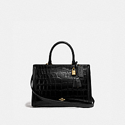 ZOE CARRYALL - IM/BLACK - COACH F72663