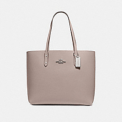 TOWN TOTE - GREY BIRCH/SILVER - COACH F72673