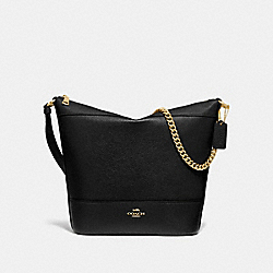 PAXTON DUFFLE - BLACK/GOLD - COACH F72692