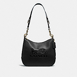 JES HOBO - BLACK/GOLD - COACH F72702