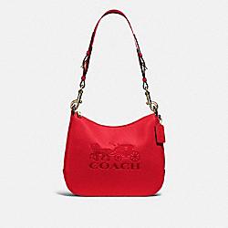 JES HOBO - IM/BRIGHT RED - COACH F72702