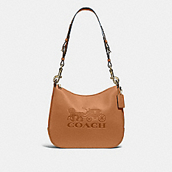 JES HOBO - LIGHT SADDLE/GOLD - COACH F72702