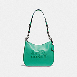 JES HOBO - GREEN/SILVER - COACH F72702