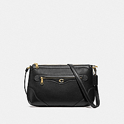 IVIE MESSENGER - BLACK/GOLD - COACH F72839