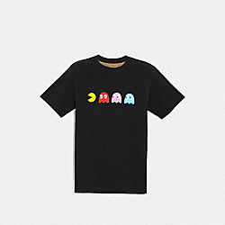 PAC-MAN GHOST T-SHIRT - BLACK - COACH F72882