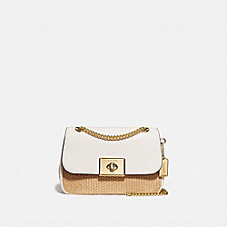 CASSIDY CROSSBODY - NATURAL CHALK/GOLD - COACH F72885
