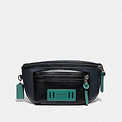 TERRAIN BELT BAG - MIDNIGHT NAVY/BLACK ANTIQUE NICKEL - COACH F72936