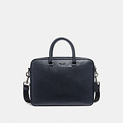 BECKETT COMPACT BRIEF - MIDNIGHT NAVY/NICKEL - COACH F72974