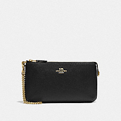 LARGE WRISTLET - BLACK/GOLD - COACH F73044