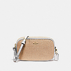 CROSSBODY POUCH - NATURAL CHALK/GOLD - COACH F73070